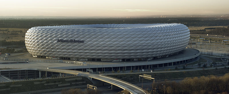 Allianz Arena Munich - Image via Richard Bartz