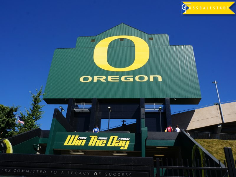 Autzen Stadium in Eugen Oregon hosted the International Champions Cup