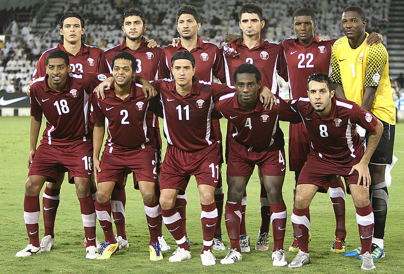 The Qatar national team is not exactly a world power - Image by Doha Stadium Plus Qatar CC-BY-2.0