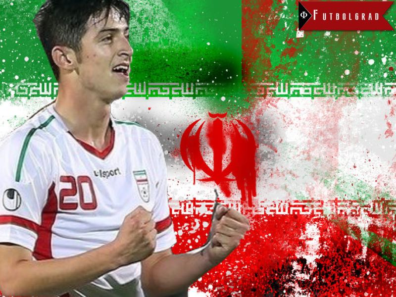 Sardar Azmoun and Fedor Smolov have been linked with a move to Borussia Dortmund - For more on the Iranian forward click on the image.