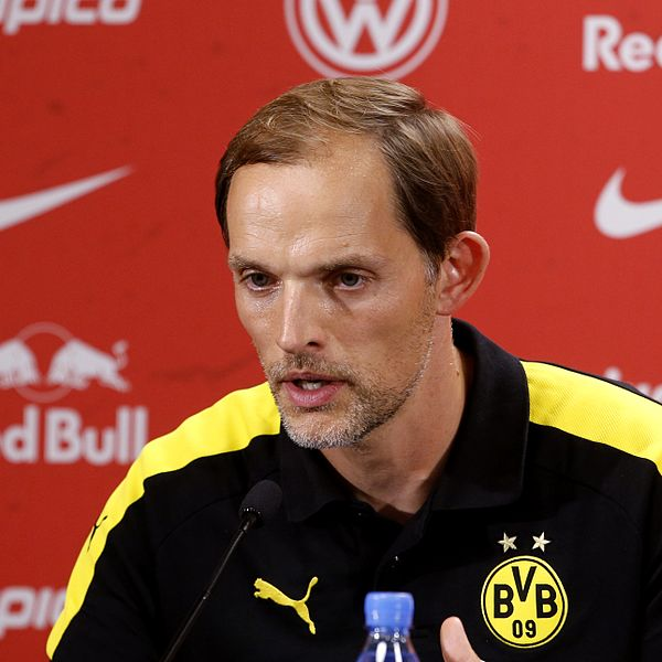 Thomas Tuchel used 3-5-2 to beat Bayern München - Image by Alexander Böhm CC-BY-SA-4.0