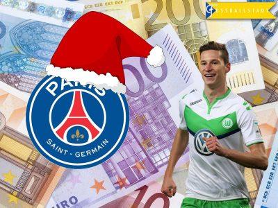 Julian Draxler to PSG – A Xmas Present for Wolfsburg
