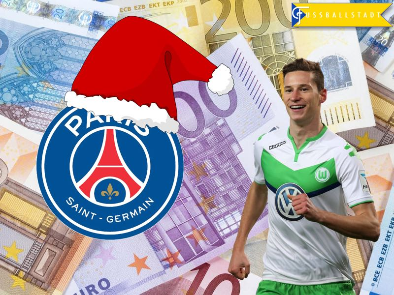 Julian Draxler to PSG – A Xmas Present for Wolfsburg