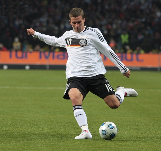 For many years Lukas Podolski was one of the main faces of the German national team - Image by Yulia Novikova CC-BY-SA-3.0