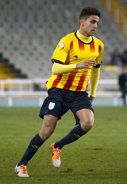 Marc Bartra (here playing for Catalonia) still has not adapted to Bundesliga football - Image by  Xavier Rondón Medina