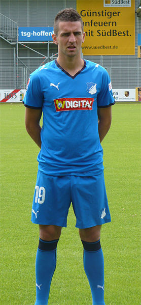 Vedad Ibišević was on fire during the first 17 games with Hoffenheim in the Bundesliga - Image by TSG-dan CC-BY-3.0