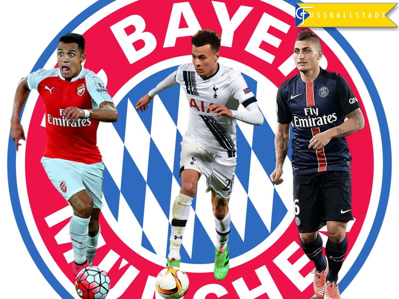 Dele Alli, Alexis Sánchez and Marco Verratti – A Mega Transfer is only a Question of Time for Bayern
