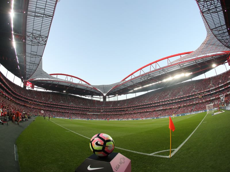 Benfica vs Borussia Dortmund will take place at the Estádio da Luz. (Photo by Carlos Rodrigues/Getty Images)