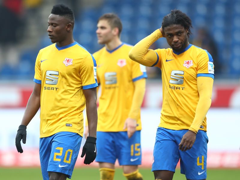 Braunschweig's trajectory in the promotion race has been pointing downwards. (Photo by Martin Rose/Bongarts/Getty Images)
