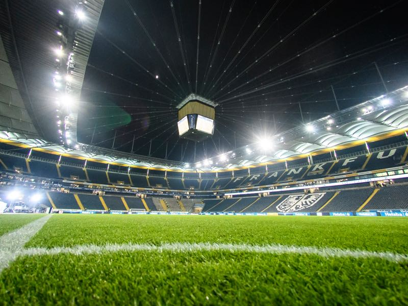 Eintracht Frankfurt vs RB Leipzig will take place at the Commerzbank Arena. (Photo by Alexander Scheuber/Bongarts/Getty Images)