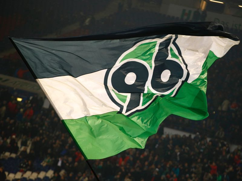 The Flag of Hannover before the Second Bundesliga match between Hannover 96 and VfL Bochum 1848 at HDI-Arena on February 13, 2017 in Hanover, Germany. (Photo by Joachim Sielski/Bongarts/Getty Images)