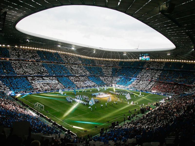 1860 vs Nürnberg will take place at the Allianz Arena in Munich (Photo by Jan Pitman/Bongarts/Getty Images)