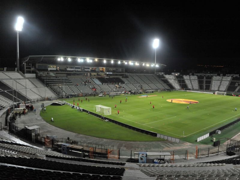 PAOK VS Schalke will take place at Toumba Stadium. (Photo by Sakis Mitrolidis/EuroFootball/Getty Images)