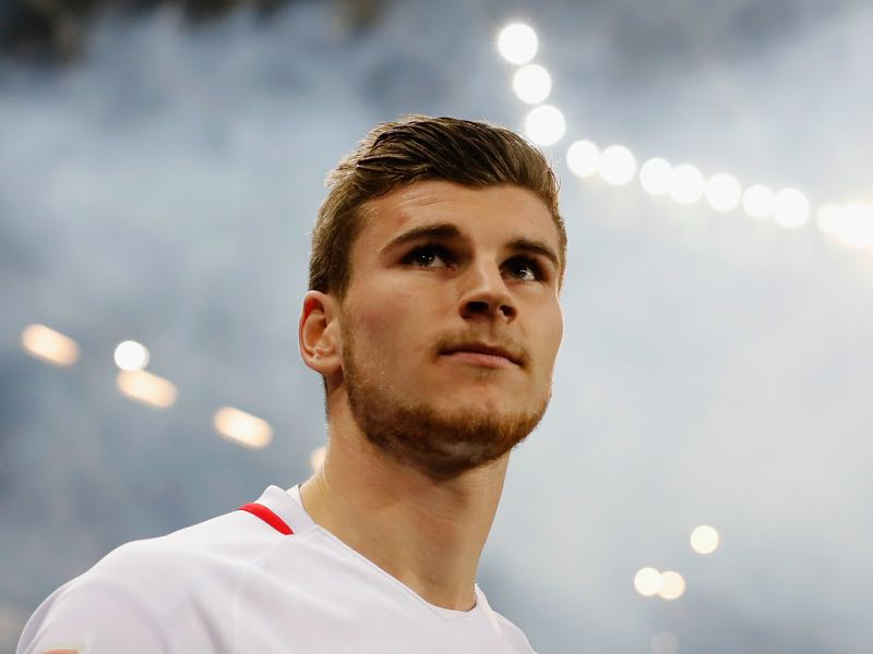 Timo Werner is one of the outsiders to win the Bundesliga goal-scoring race. (Photo by Boris Streubel/Bongarts/Getty Images)