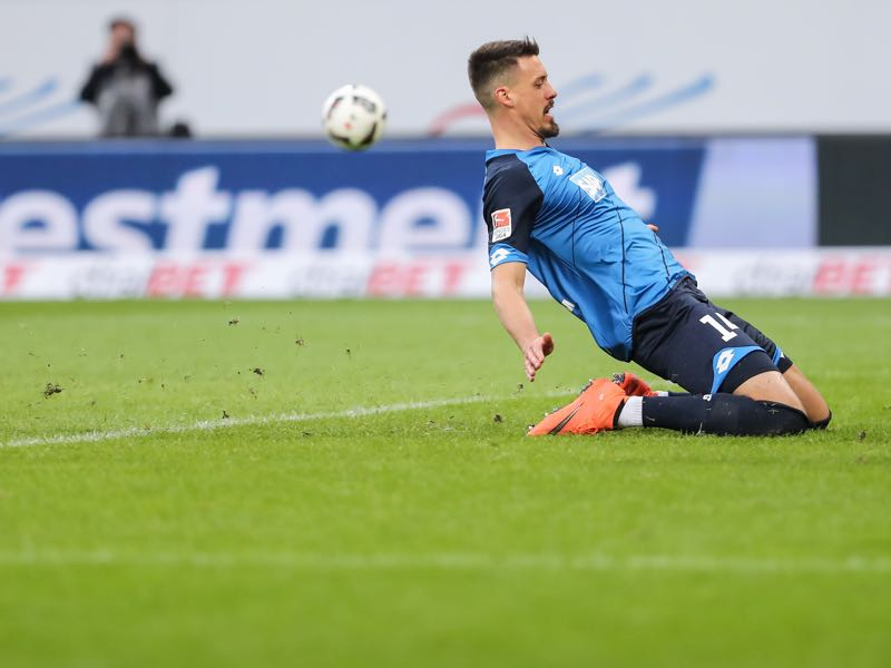 Sandro Wagner is the renaissance man. (Photo by Simon Hofmann/Bongarts/Getty Images)