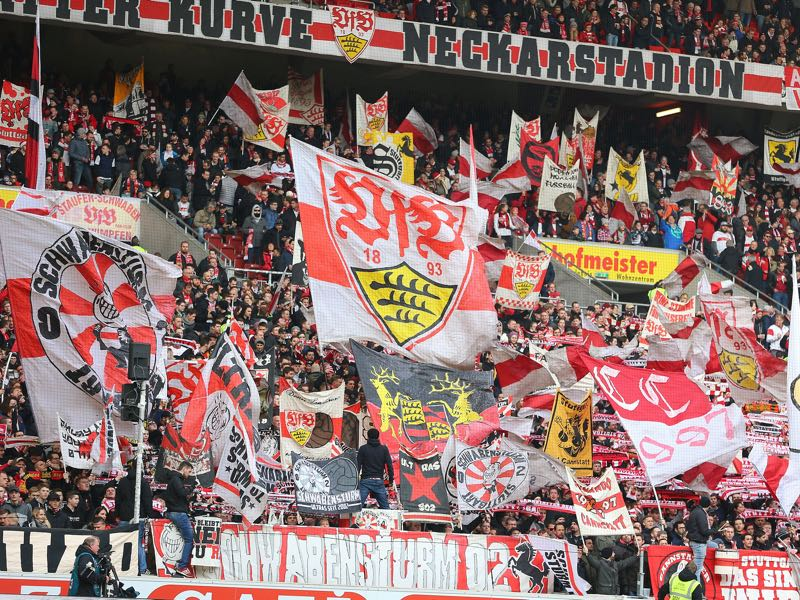 VfB Suttgart's fans will be a major asset in the promotion race. (Photo by Thomas Niedermueller/Bongarts/Getty Images)