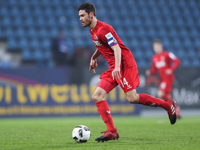 Jonas Hector of Koeln controls the ball during a friendly match between VfL Bochum and 1. FC Koeln at Vonovia Ruhrstadion on January 7, 2017 in Bochum, Germany. (Photo by Maja Hitij/Bongarts/Getty Images)