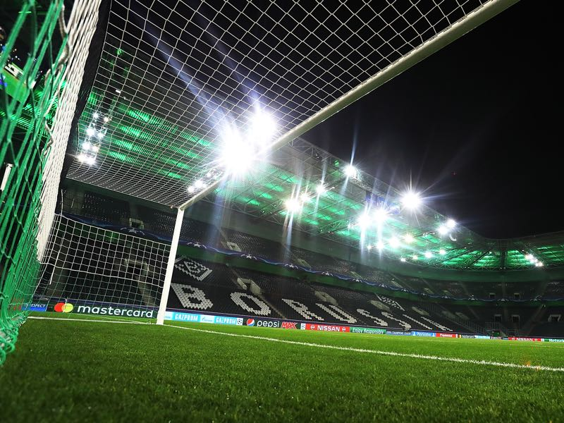 Gladbach vs Bayer Leverkusen will take place at the Borussia-Park in Mönchengladbach. (Photo by Alex Grimm/Bongarts/Getty Images)