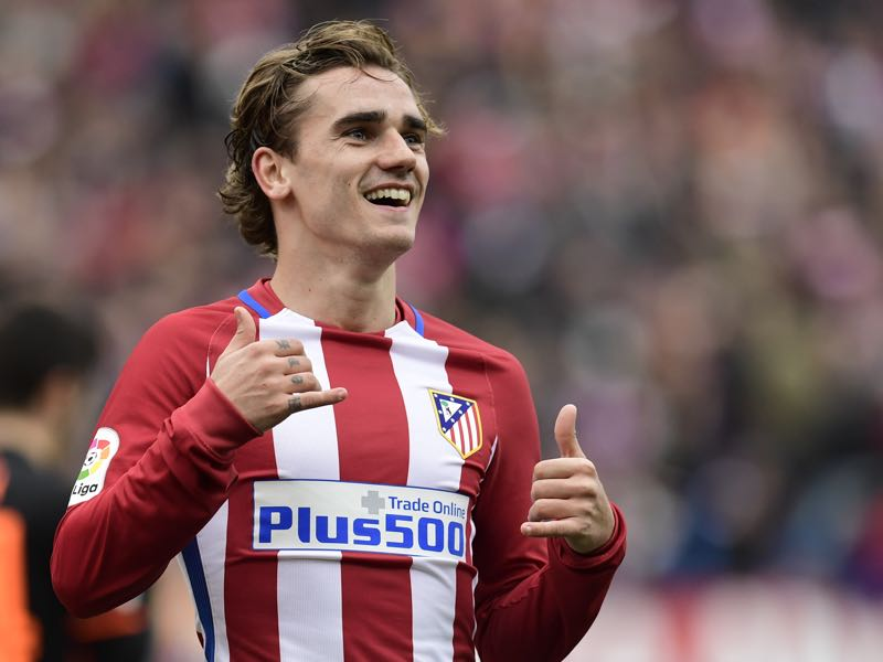Antoine Griezmann will be one to watch when Atlético host Bayer Leverkusen. (JAVIER SORIANO/AFP/Getty Images)