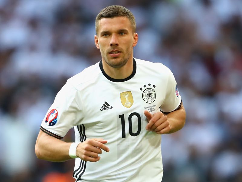 Germany vs England will be all about Lukas Podolski (Photo by Alexander Hassenstein/Getty Images)