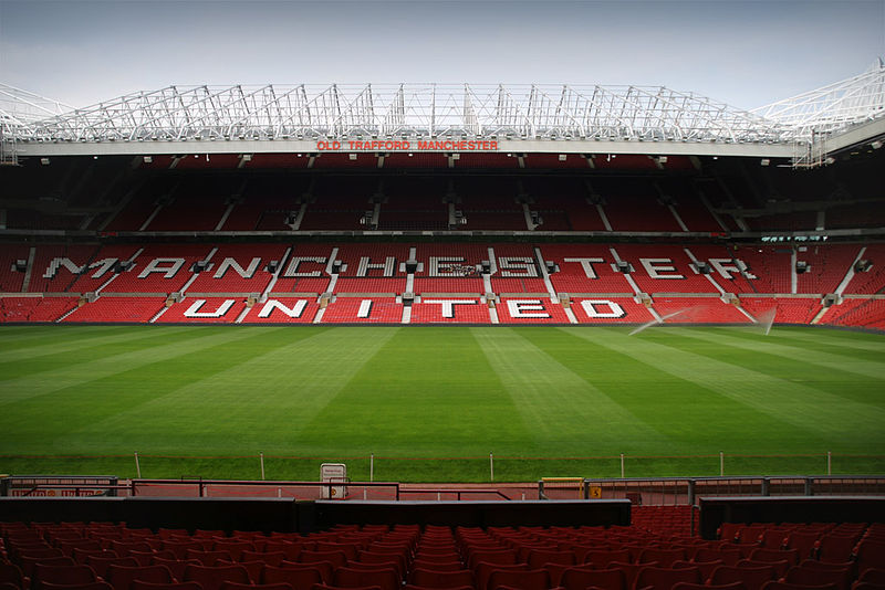Manchester United vs Barcelona will take place at the Old Trafford. Image by Andre Zahn Creative Commons Attribution ShareAlike 2.0 Germany
