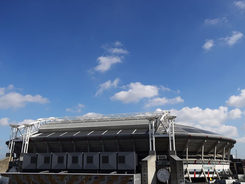 Ajax vs Bayern will take place at the Amsterdam ArenA (Photo by Dean Mouhtaropoulos/Getty Images)