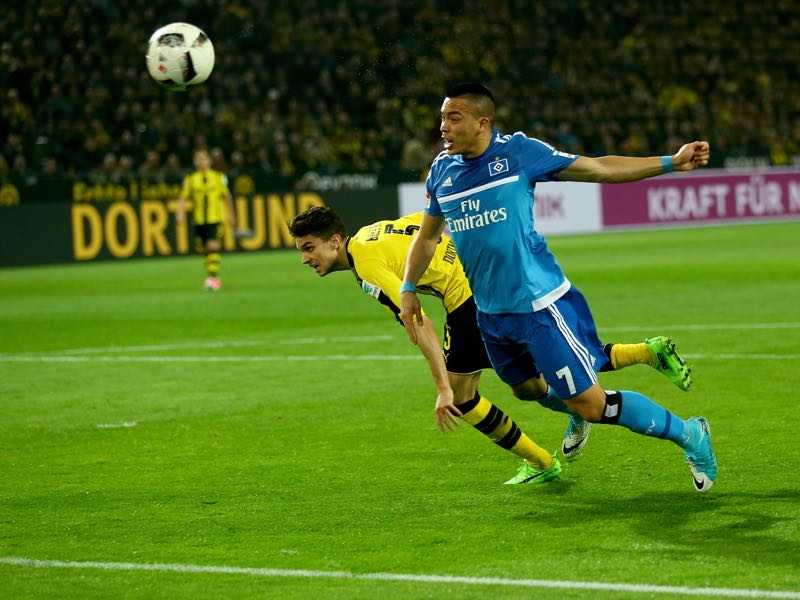 Could Bobby Wood become Dortmund's Plan B? (Photo by Christof Koepsel/Bongarts/Getty Images)