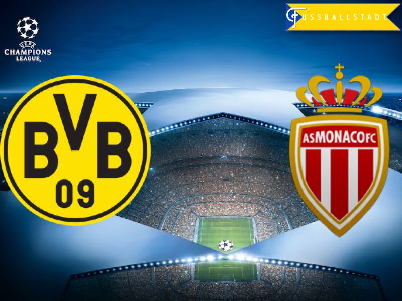 Update! Borussia Dortmund vs Monaco – Champions League Preview