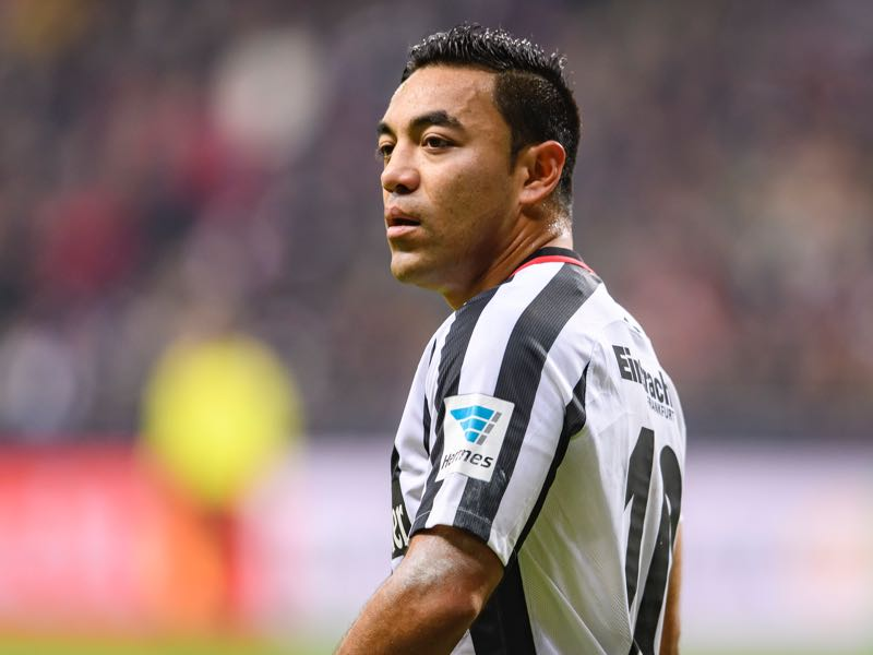 Marco Fabian is Eintracht Frankfurt's key player. (Photo by Alexander Scheuber/Bongarts/Getty Images)