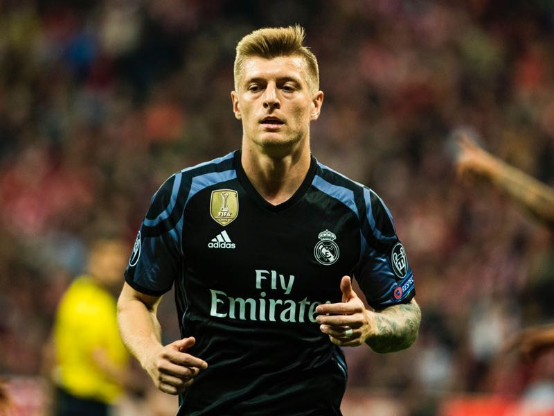 Toni Kroos is Real Madrid's key player. (ODD ANDERSEN/AFP/Getty Images)