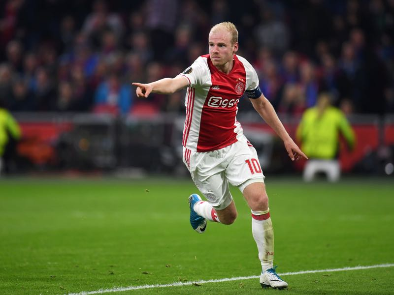 Davy Klaassen is Ajax Amsterdam's leader. (PATRIK STOLLARZ/AFP/Getty Images)