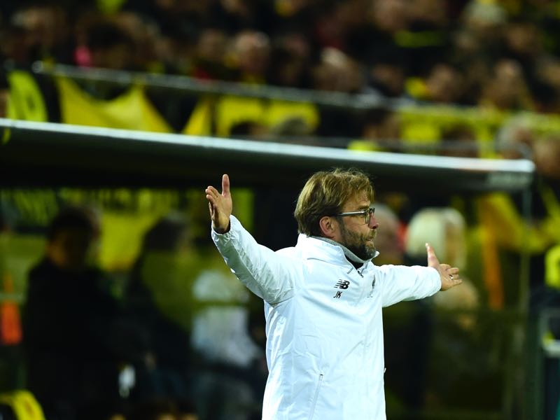 Jürgen Klopp joined Dortmund after Bayern signed Klinsmann. (JOHN MACDOUGALL/AFP/Getty Images)