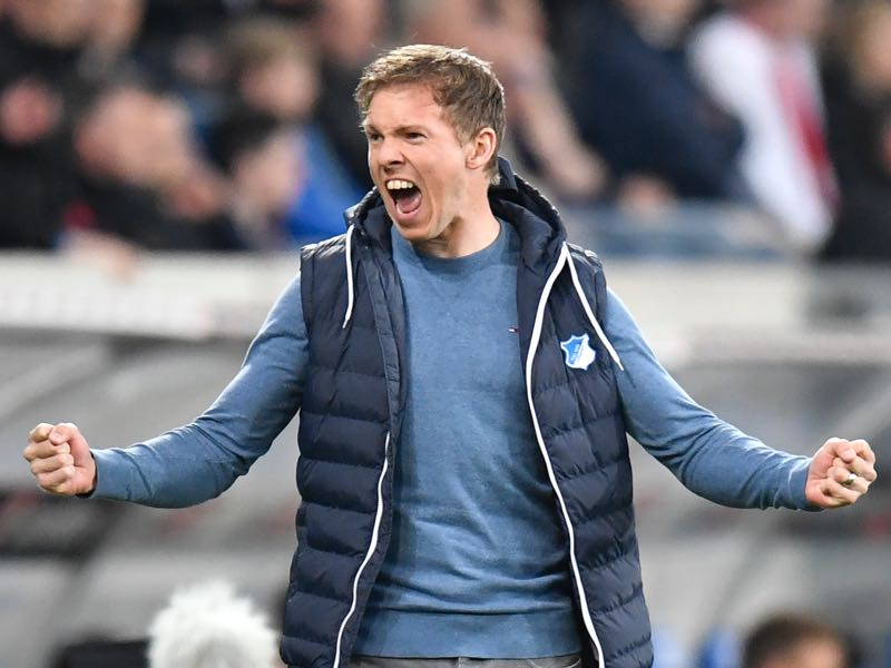 Julian Nagelsmann has done a magnificent job at 1899 Hoffenheim last season. (THOMAS KIENZLE/AFP/Getty Images)