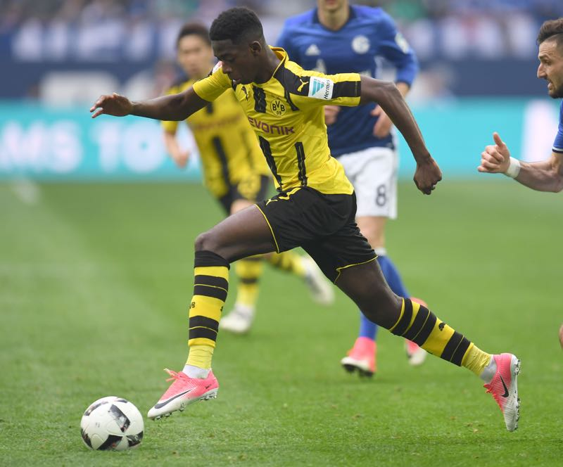 Ousmane Dembélé is Dortmund's player to watch. (PATRIK STOLLARZ/AFP/Getty Images)