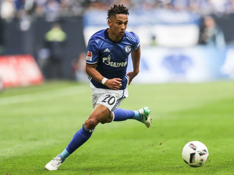 Thilo Kehrer is our Schalke player to watch. David Neres is our player Ajax player to watch in the Europa League quarterfinal (Photo by Dean Mouhtaropoulos/Getty Images)