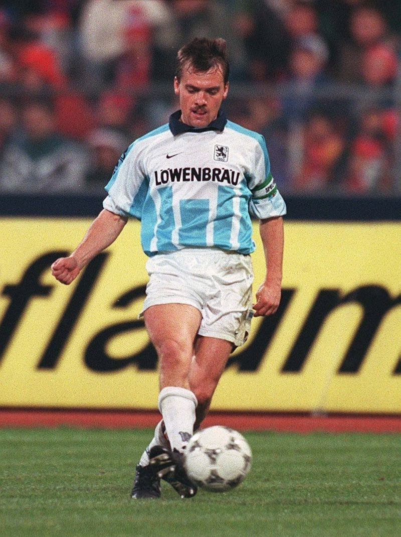 Former 1860 München captain Manni Schwabl came up with a plan to renovate the Grünwalder Stadion. But the city, and the club rejected his proposal. (Photo by Bongarts/Getty Images)