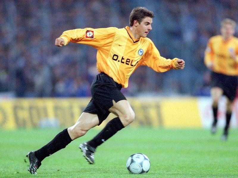Sebastian Deisler was the face of Hertha Berlin in the late 1990s and early 2000s. (Photo by Sandra Behne/Bongarts/Getty Images)