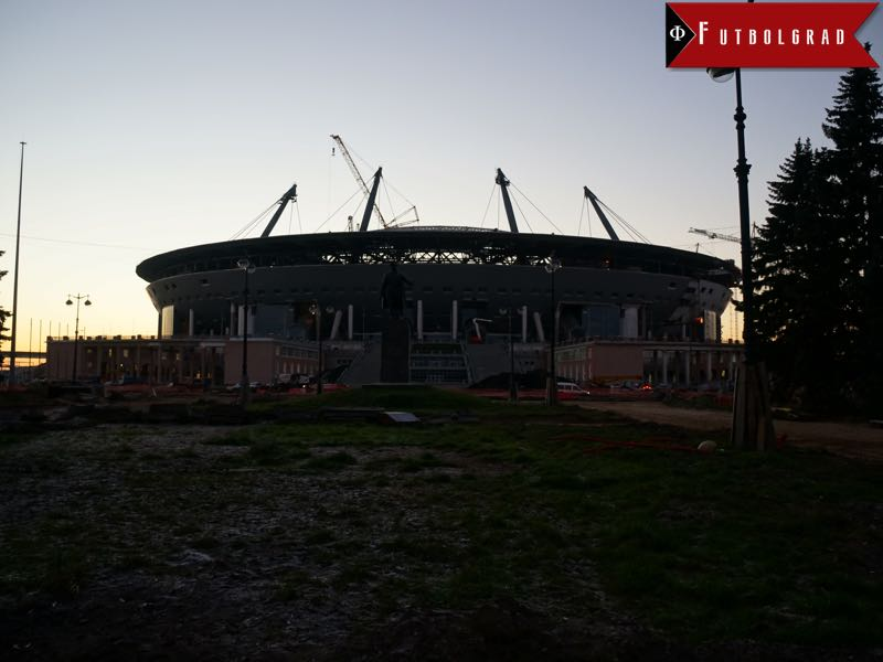 Chile vs Germany will take place at the Krestovsky Stadium in Saint Petersburg.