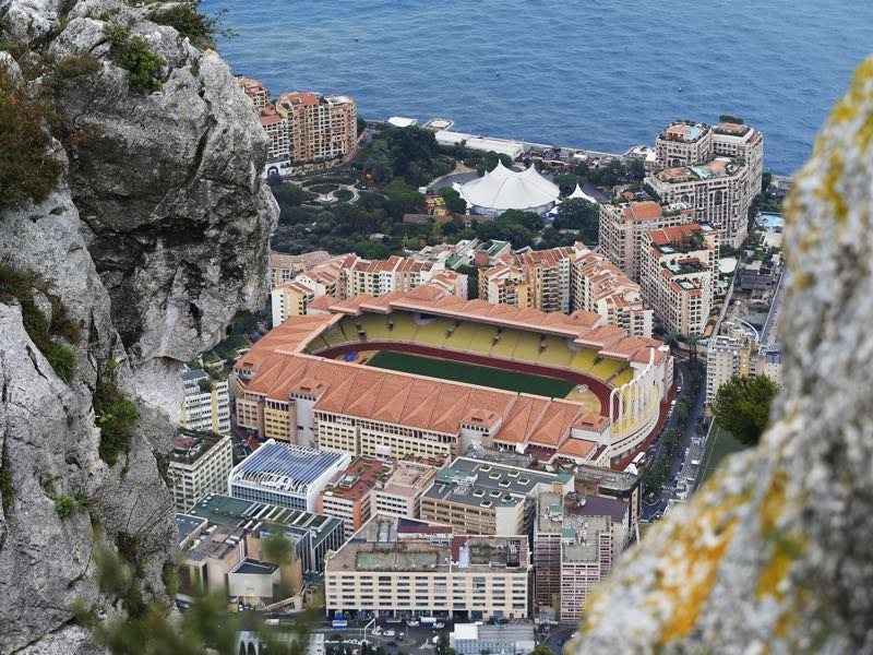 AS Monaco vs Juventus Turin will take place at the Stade Louis II - Monaco. (VALERY HACHE/AFP/Getty Images)