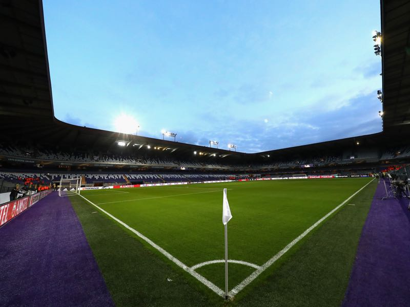 RSC Anderlecht vs Manchester United will take place at the Constant Vanden Stock Stadium in Brussels. (Photo by Dean Mouhtaropoulos/Getty Images)
