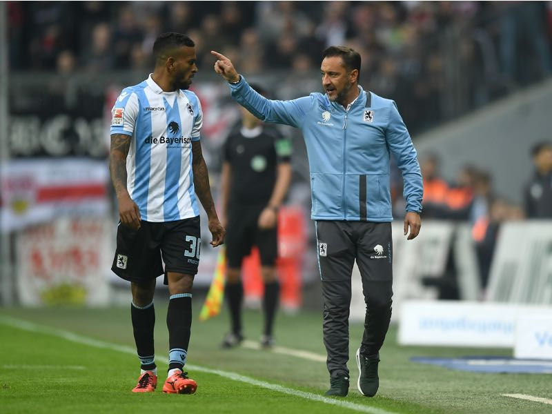 Despite playing good football 1860 München has struggled for positive results under Pereira lately. (Photo by Lennart Preiss/Bongarts/Getty)