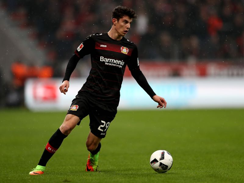 Kai Havertz is Bayer's player to watch. (Photo by Lars Baron/Bongarts/Getty Images)