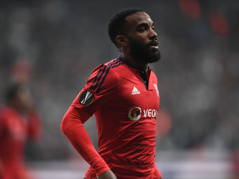 Alexandre Lacazette has been Olympique Lyon's most prolific forward. (BULENT KILIC/AFP/Getty Images)