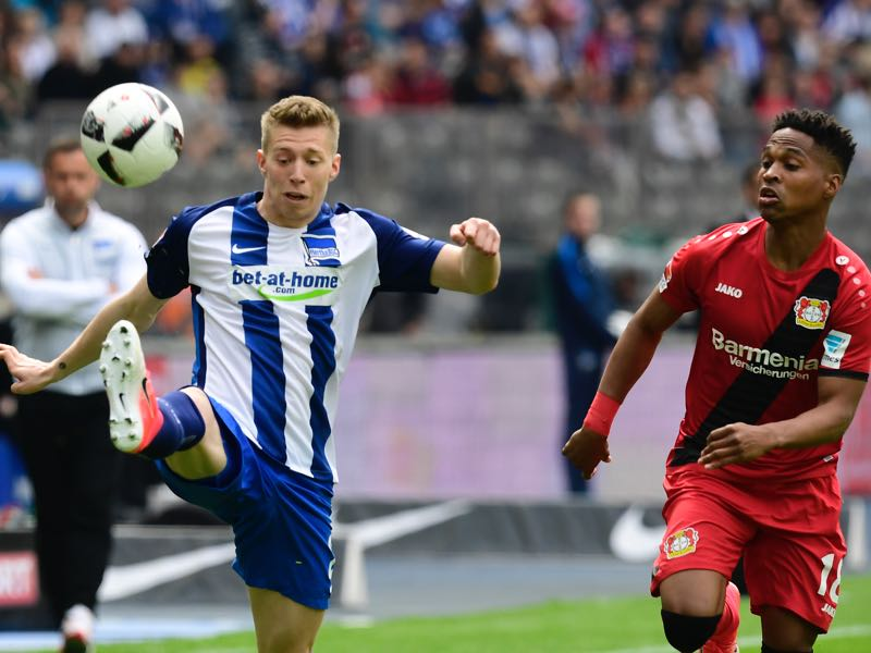 Hertha berlin vs leverkusen liveblog fussball stadt for Fuss bundesliga