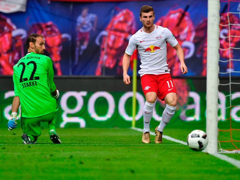RB Leipzig vs Bayern München - The moment that should have sealed the deal.... (JOHN MACDOUGALL/AFP/Getty Images)