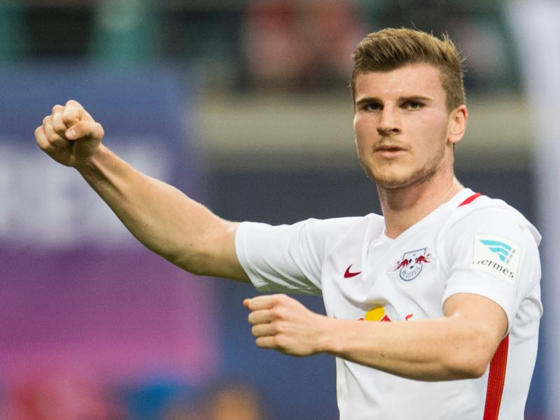 Timo Werner will be Leipzig's key player. (ROBERT MICHAEL/AFP/Getty Images)