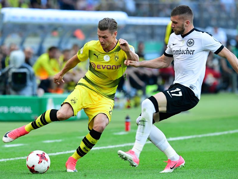 Frankfurt vs Dortmund - The DFB Pokal is a tight affair at the moment. (TOBIAS SCHWARZ/AFP/Getty Images)