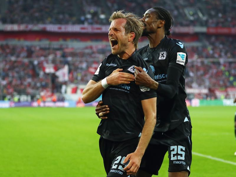 Stefan Aigner is the heart and soul of 1860 München. (Photo by Lars Baron/Bongarts/Getty Images)