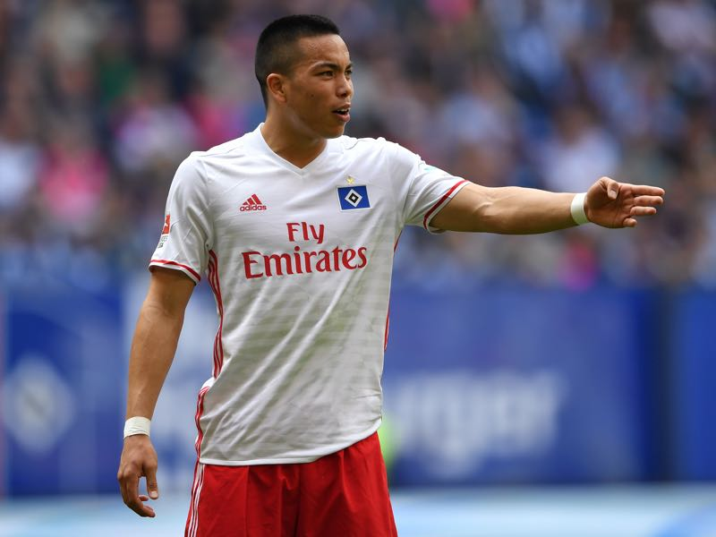 Bobby Wood is the Hamburger SV player to watch. (Photo by Stuart Franklin/Bongarts/Getty Images)