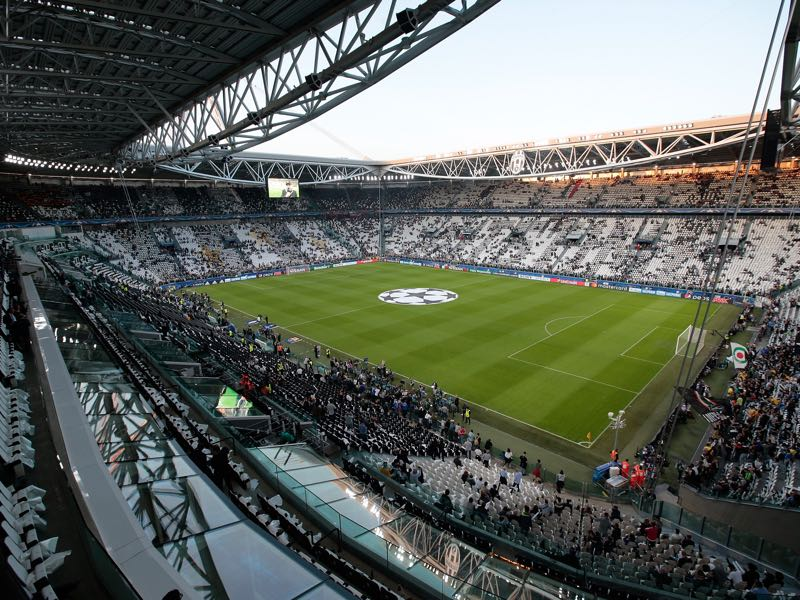 The Champions League match Juventus vs Real Madrid will take place in the Juventus Stadium in Turin. (Photo by Emilio Andreoli/Getty Images)